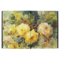 "Bischoff - Roses (yellow) iPad Pro 12.9"" Case"
