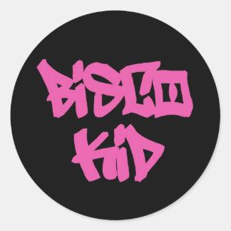 Bisco Kid 1 Round Sticker 08 (Sheet of 6)