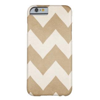 Biscotti & Cream Chevron iPhone 6 case