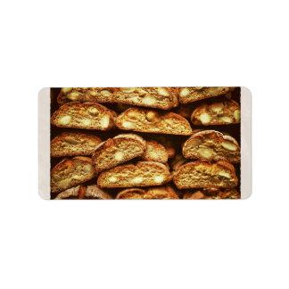 Biscotti di Prato Address Label