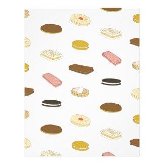 biscui - biscuit pattern letterhead