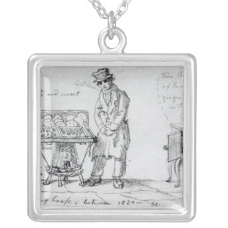 Biscuit and Gingerbread stalls at Charing Silver Plated Necklace