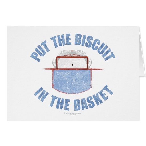 Biscuit Basket Greeting Cards