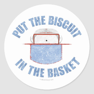 Biscuit Basket (Hockey) Classic Round Sticker
