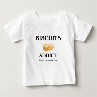 Biscuits Addict T Shirts