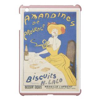 Biscuits Amandines Vintage Food Ad Art iPad Mini Cover