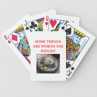 biscuits and gravy bicycle playing cards