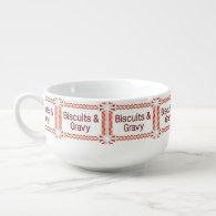 Biscuits & Gravy Soup Mug