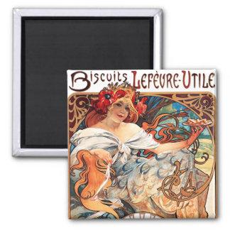 Biscuits Lefevre-Utile, Mucha Magnet