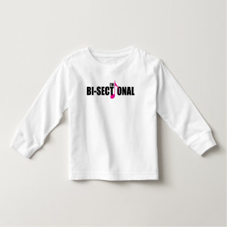 Bisectional Toddler Long Sleeve T-Shirt