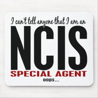 Biselo digo a cualquier persona el agente de NCIS Tapetes De Ratón