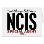 Biselo digo a cualquier persona el agente de NCIS Felicitacion