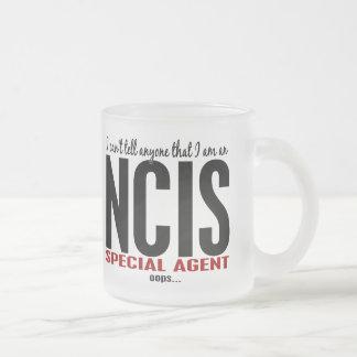 Biselo digo a cualquier persona el agente de NCIS Taza De Cristal