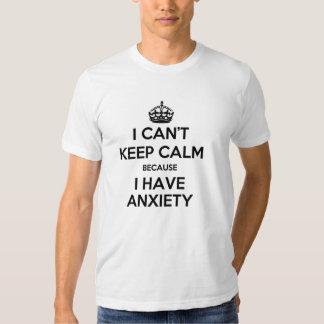 biselo guardo calma porque tengo ansiedad remera
