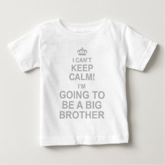 Biselo guardo la calma Im el ir a ser un hermano Remera