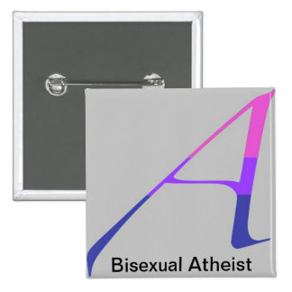 Bisexual Atheist Pin