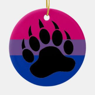 Bisexual Bear Pride Ceramic Ornament