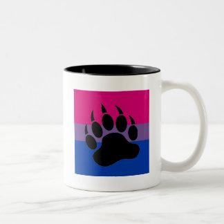 Bisexual Bear Pride Two-Tone Coffee Mug