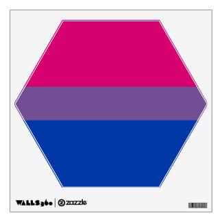 Bisexual Bi Pride Flag Wall Decal