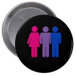 Bisexual Boy Pinback Button