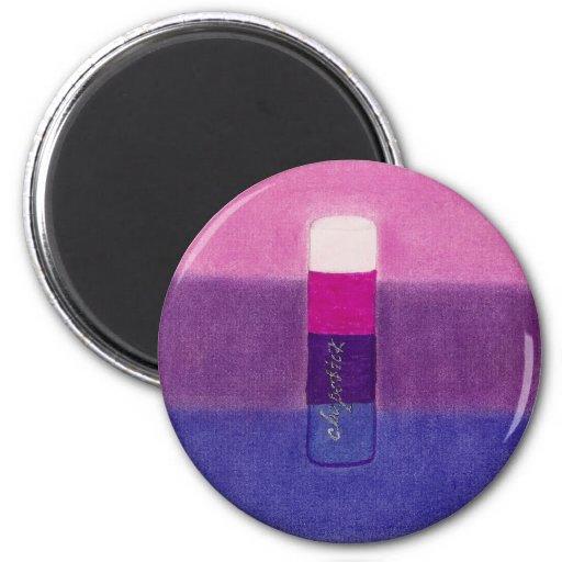 Bisexual de Chapstick Imán Redondo 5 Cm
