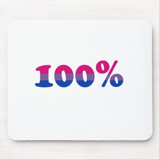 Bisexual del 100 por ciento mouse pads
