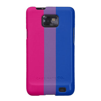 Bisexual flag Android case Galaxy SII Cover