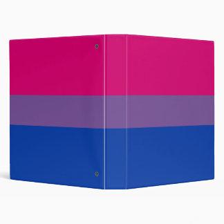 Bisexual flag binder