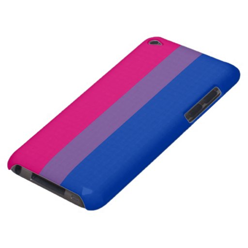 Bisexual flag case Case-Mate iPod touch case