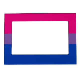 Bisexual flag magnetic picture frame