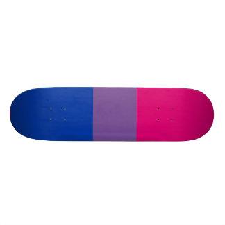 Bisexual flag skate decks