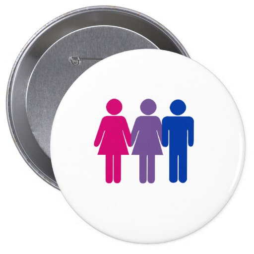 Bisexual Girl Button