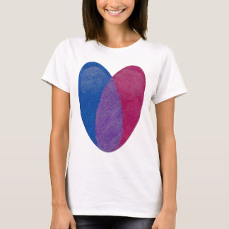 Bisexual Heart T-Shirt