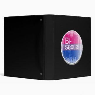 Bisexual Label distressed png Binder
