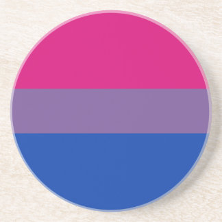 Bisexual LGBT Pride Rainbow Flag Coaster