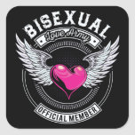 Bisexual Love Army Stickers