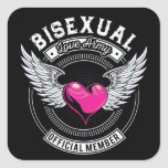 Bisexual Love Army Stickers (Small)