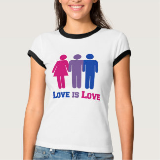 Bisexual Love is Love - T-Shirt