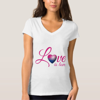 BISEXUAL LOVE IS -.png T-Shirt