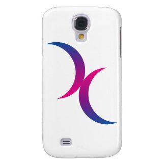 Bisexual moon symbol galaxy s4 case