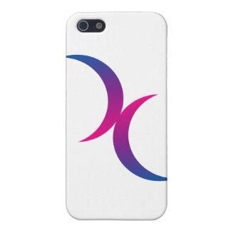 Bisexual moon symbol iPhone SE/5/5s case