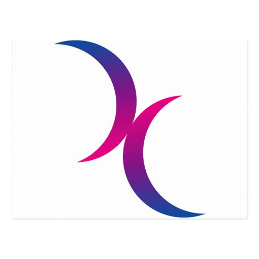 The symbol for bisexual