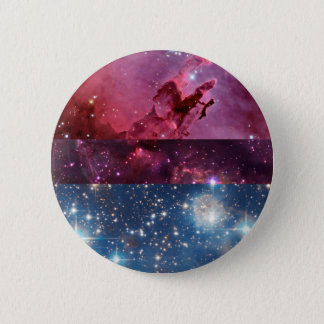 Bisexual nebula flag pin