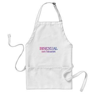 Bisexual, no binarist delantal
