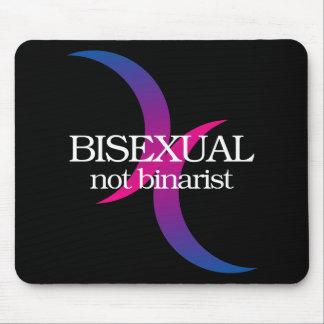 Bisexual, no binarist alfombrillas de raton