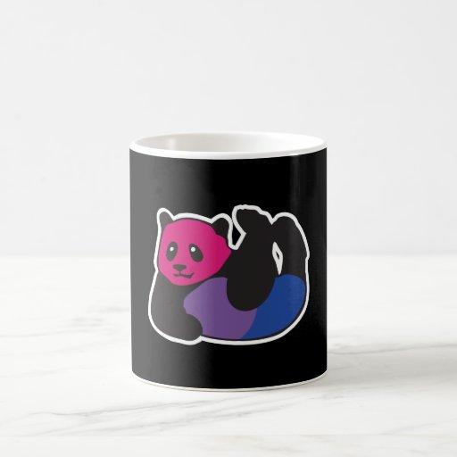 Bisexual Panda LGBT Pride Coffee Mug
