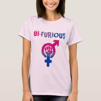 "Bisexual Power ""Bi-Furious"" LGBT T-Shirt"