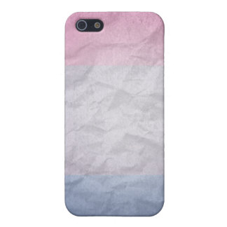 BISEXUAL PRIDE 3D COLORS COVER FOR iPhone 5