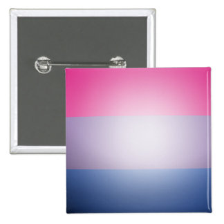 BISEXUAL PRIDE 3D COLORS -.png 2 Inch Square Button