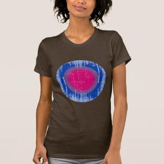 Bisexual Pride Circle distressed.png T Shirt